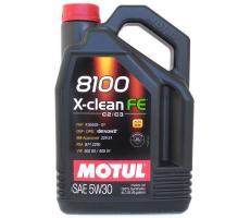 8100 X - CLEAN FE 5W-30 4л